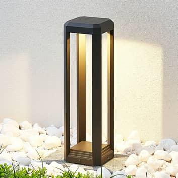 LED sokkellamp Fery in antraciet, 50 cm