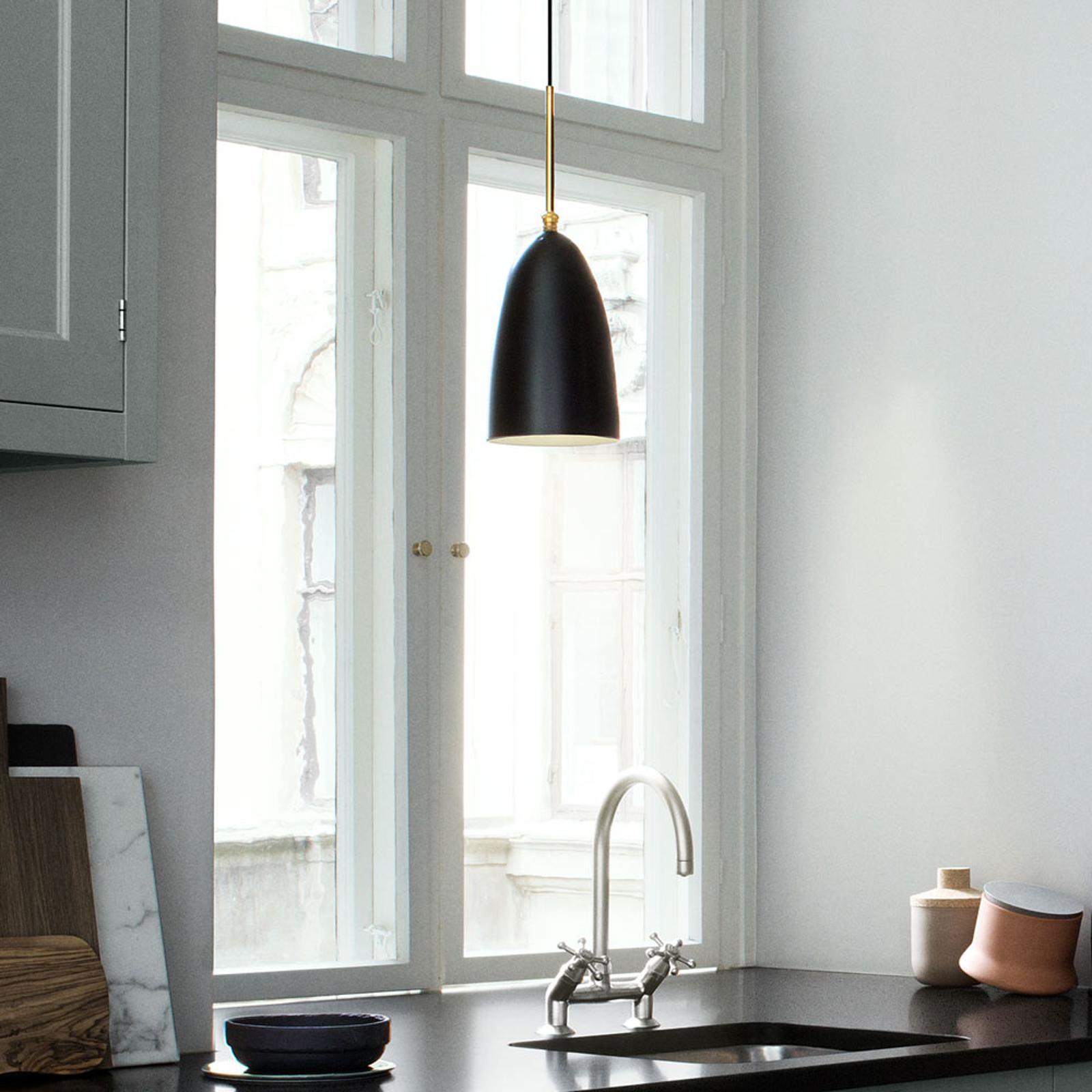 GUBI Gräshoppa hanglamp, zwart