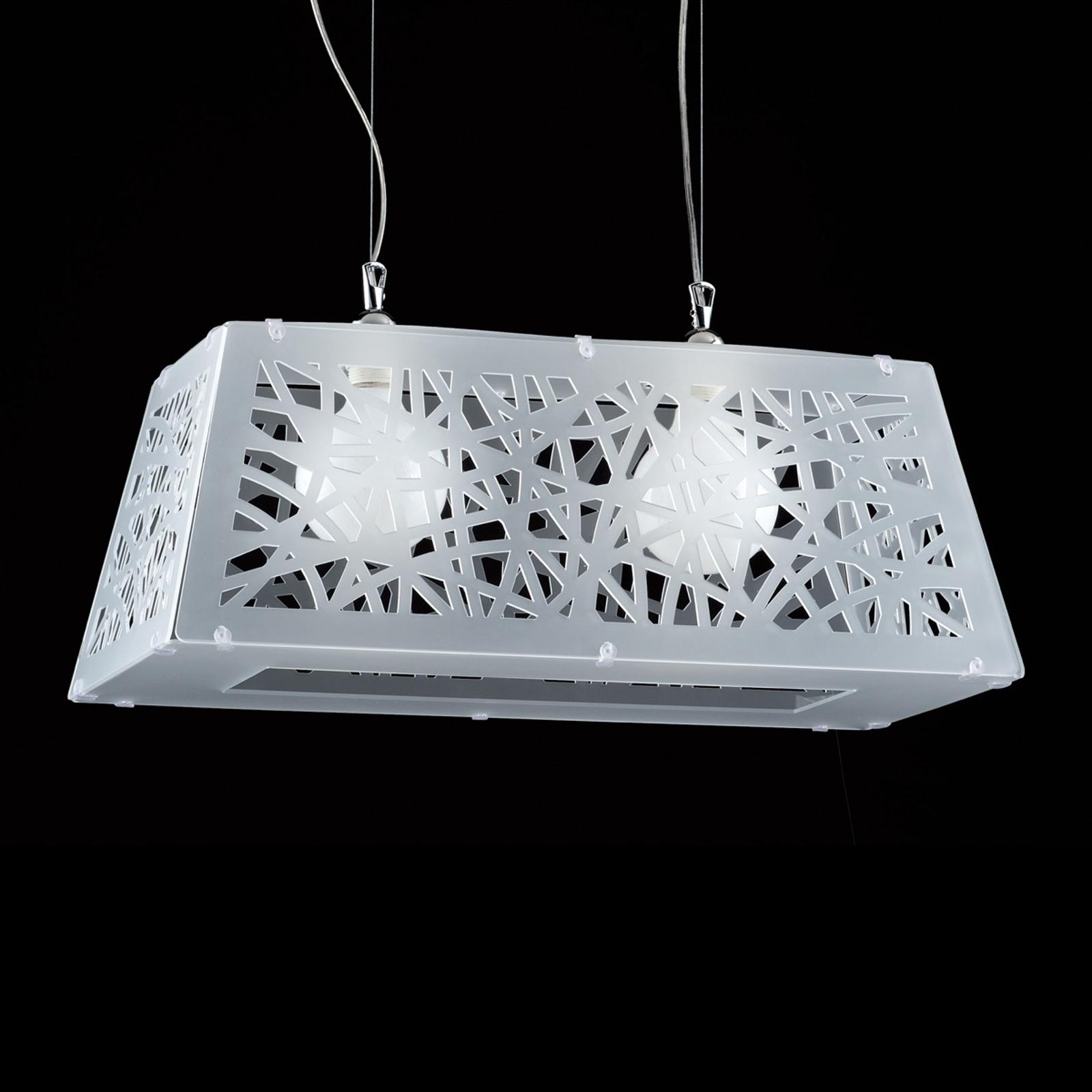 Star - moderne hanglamp voor diverse ruimtes, wit