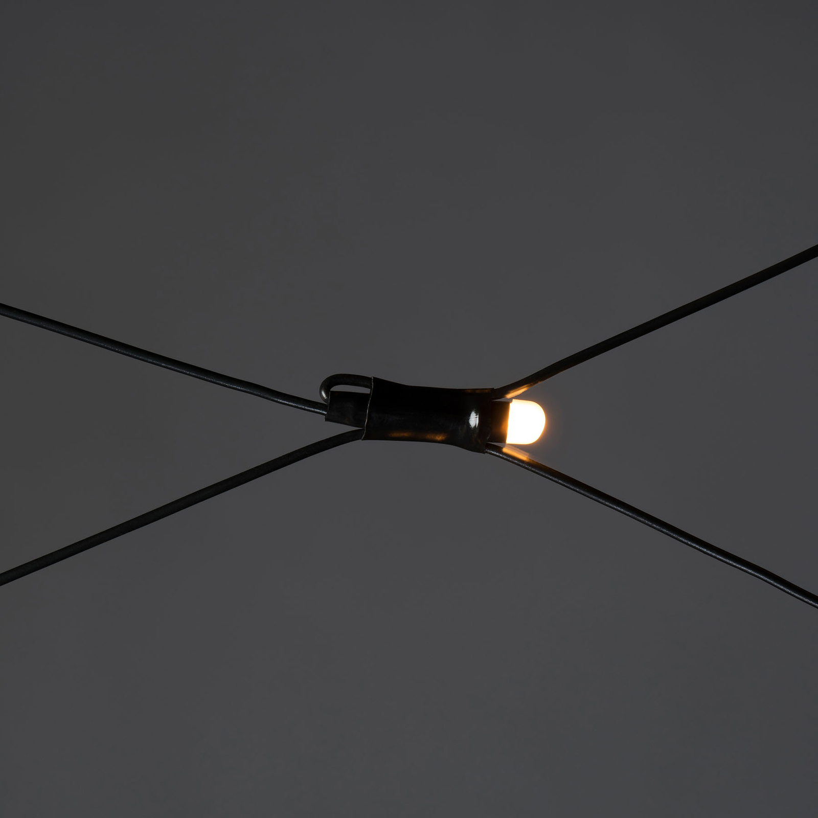 Rete di luci LED da esterni, 96 luci 300x300cm