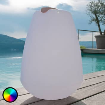 Lámpara decorativa LED Vessel portátil