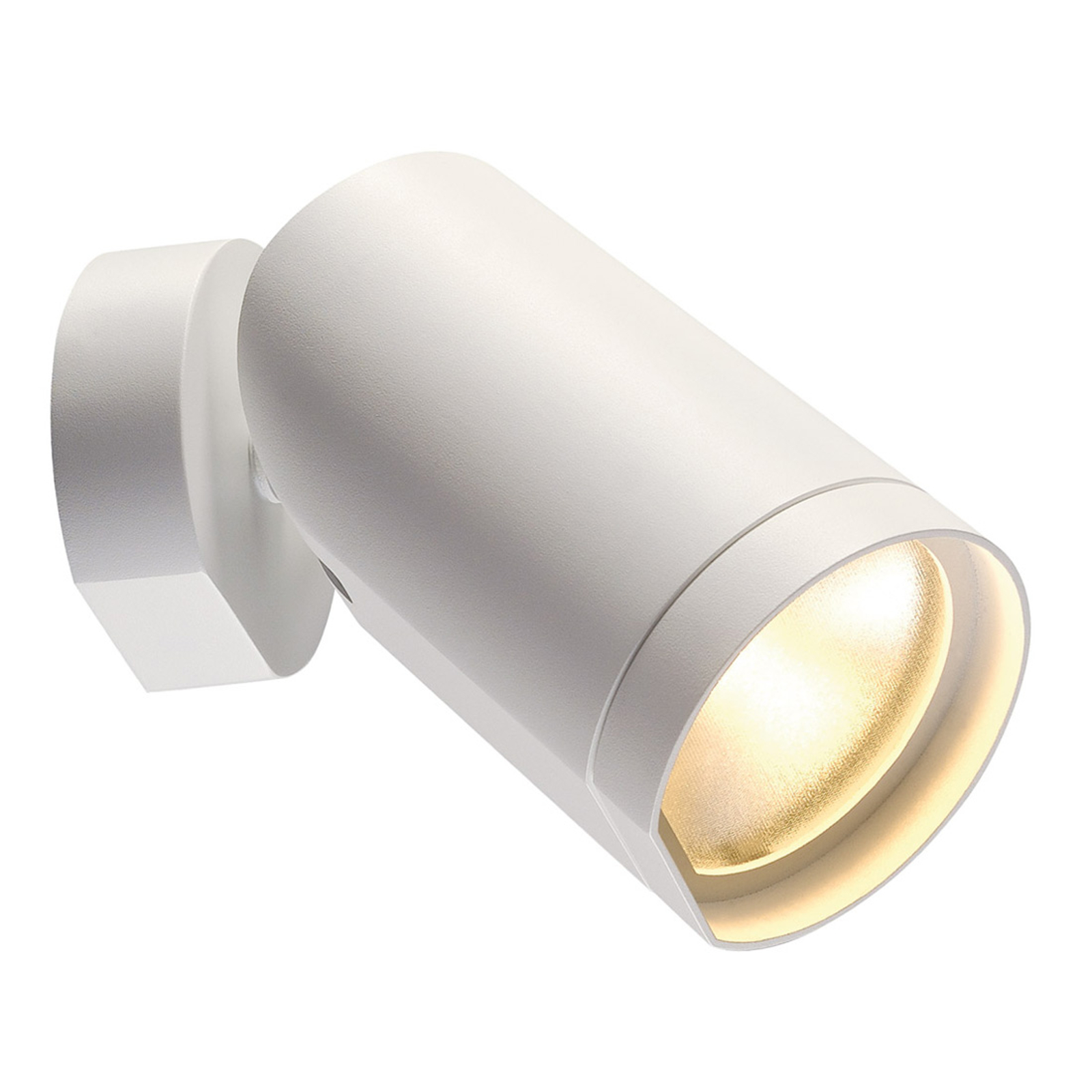 Spot LED de plafond Bilas pivotant 1 lampe, blanc