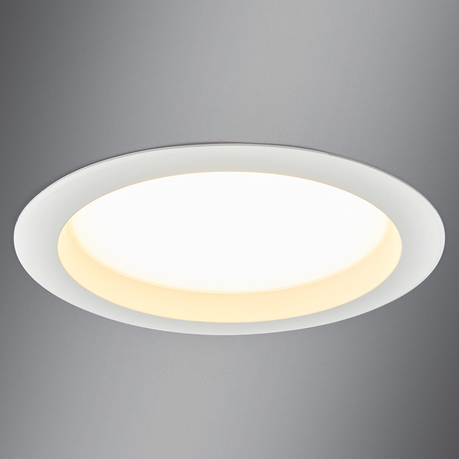 Stor LED-indbygningsspot Arian, 24,4 cm 22,5W