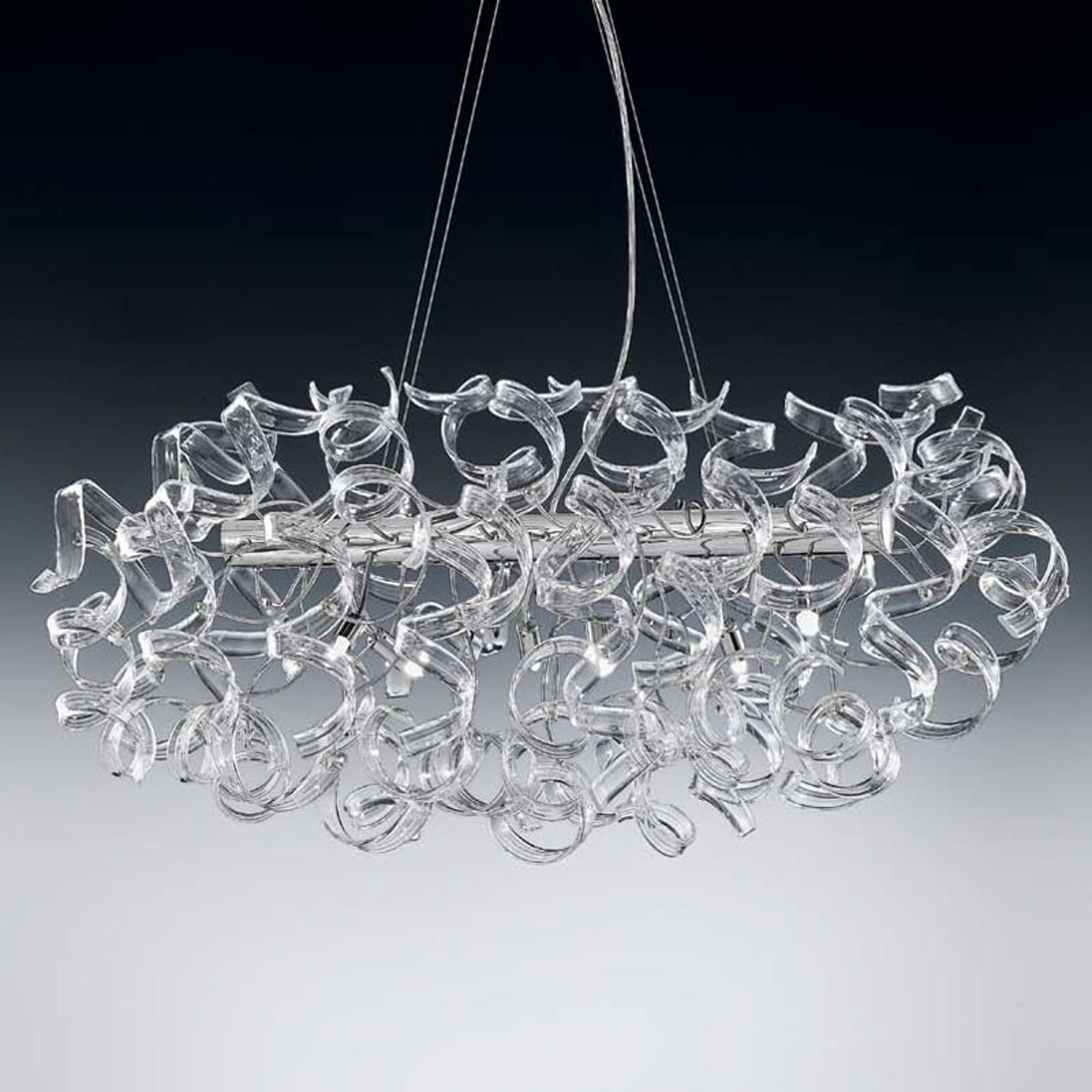 Transparante hanglamp Crystal