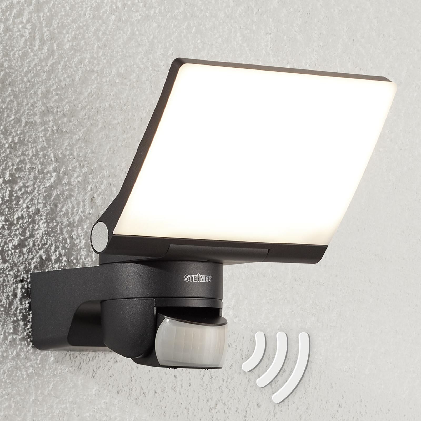 STEINEL XLED Home 2 XL LED-sensorivalo, grafiitti