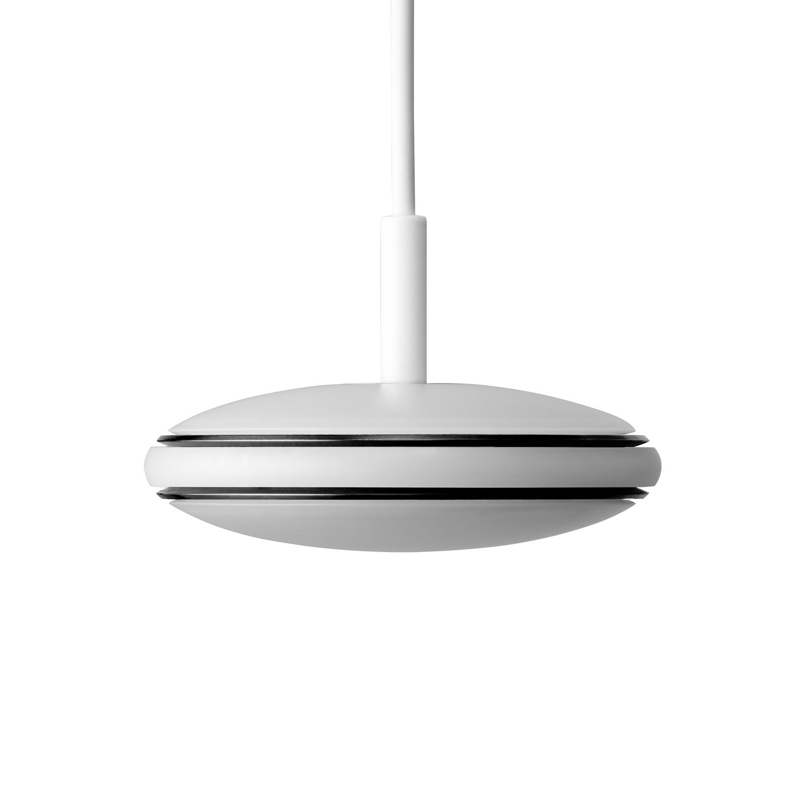 Shade ØS1 Pendel schwarz, weiß, Seil weiß PVC