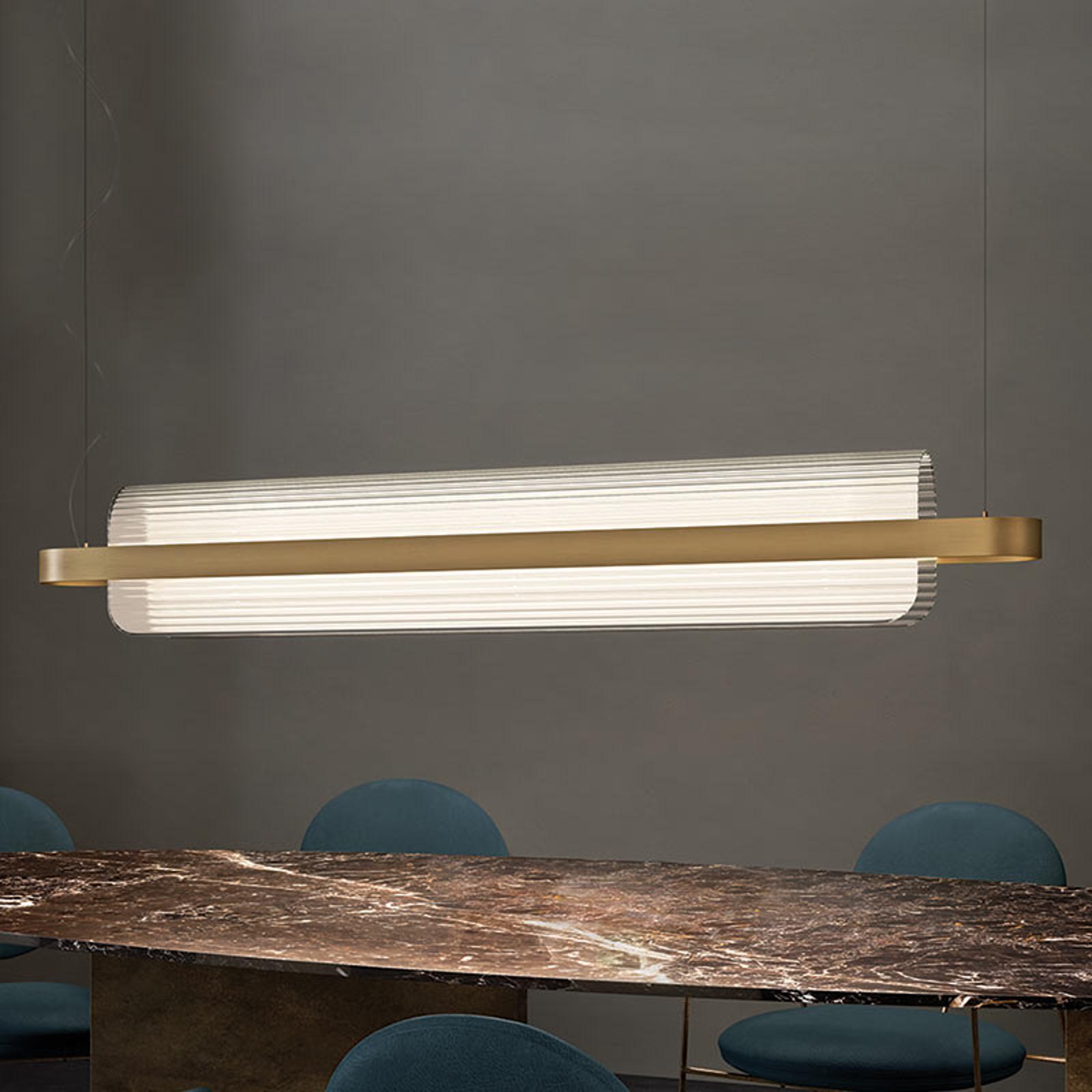 Designerska lampa wisząca Nami z technologią LED