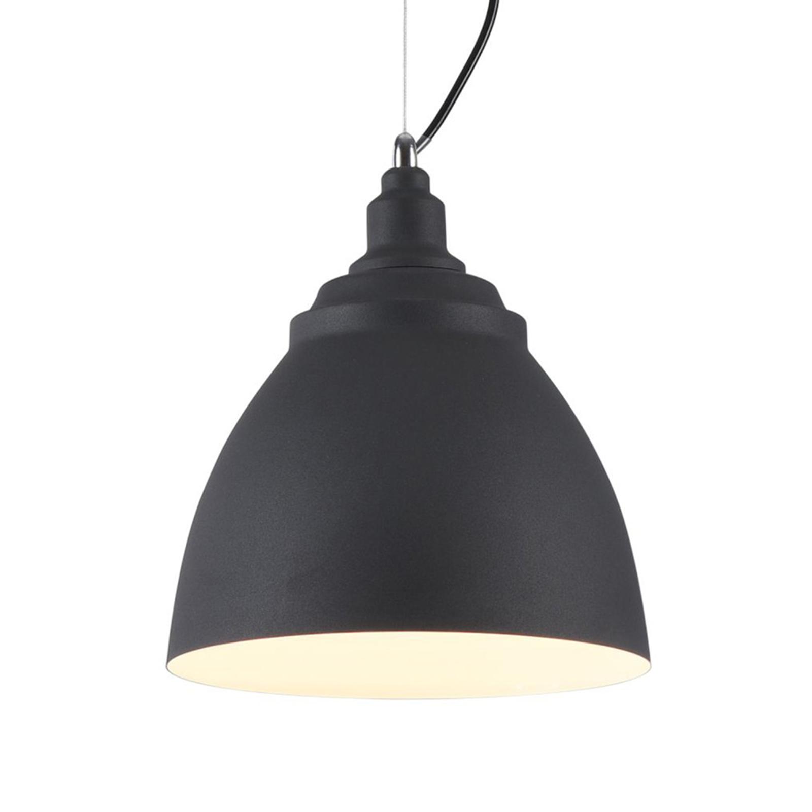 Lampa wisząca Bellevue, czarna