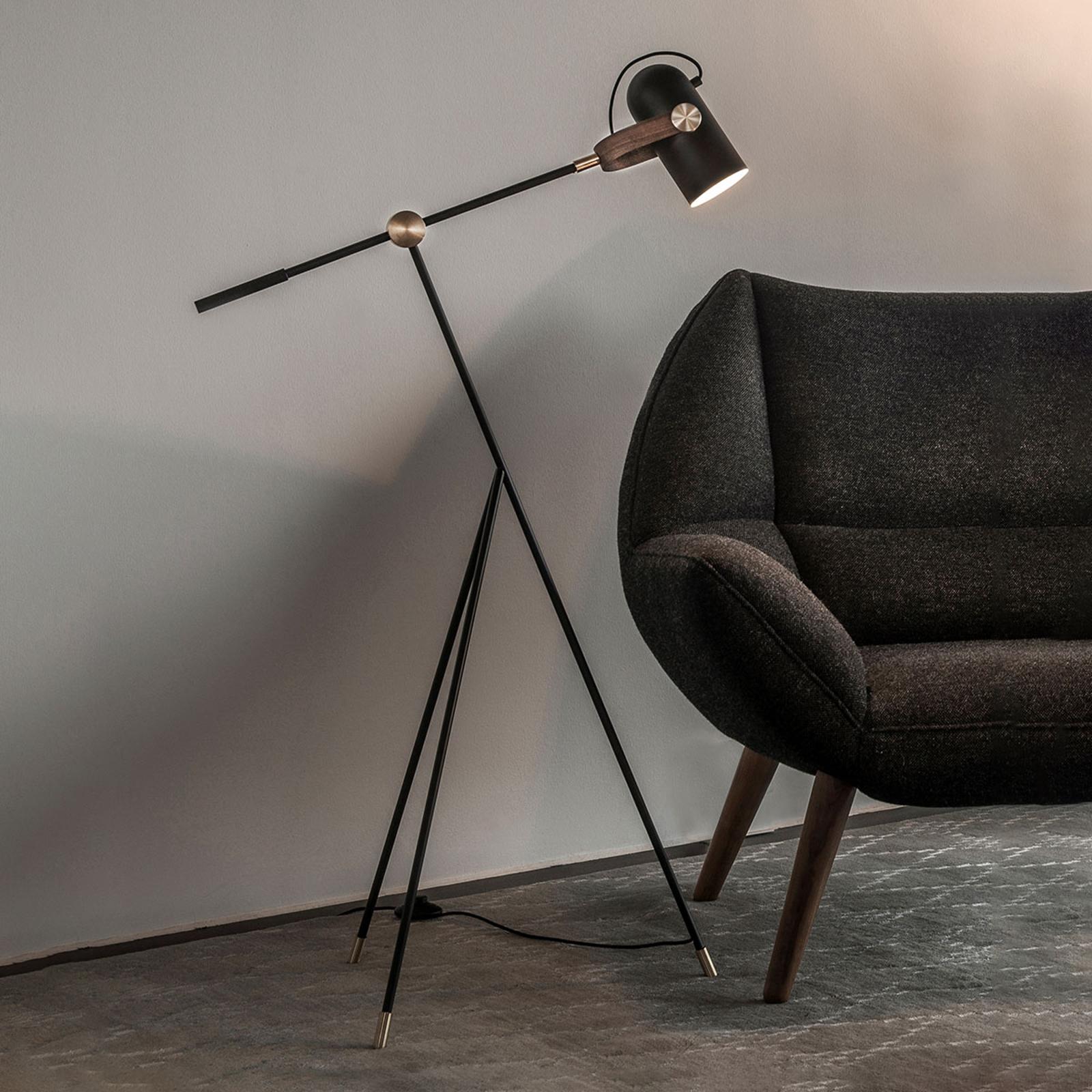 LE KLINT Carronade Low - lampadaire noir