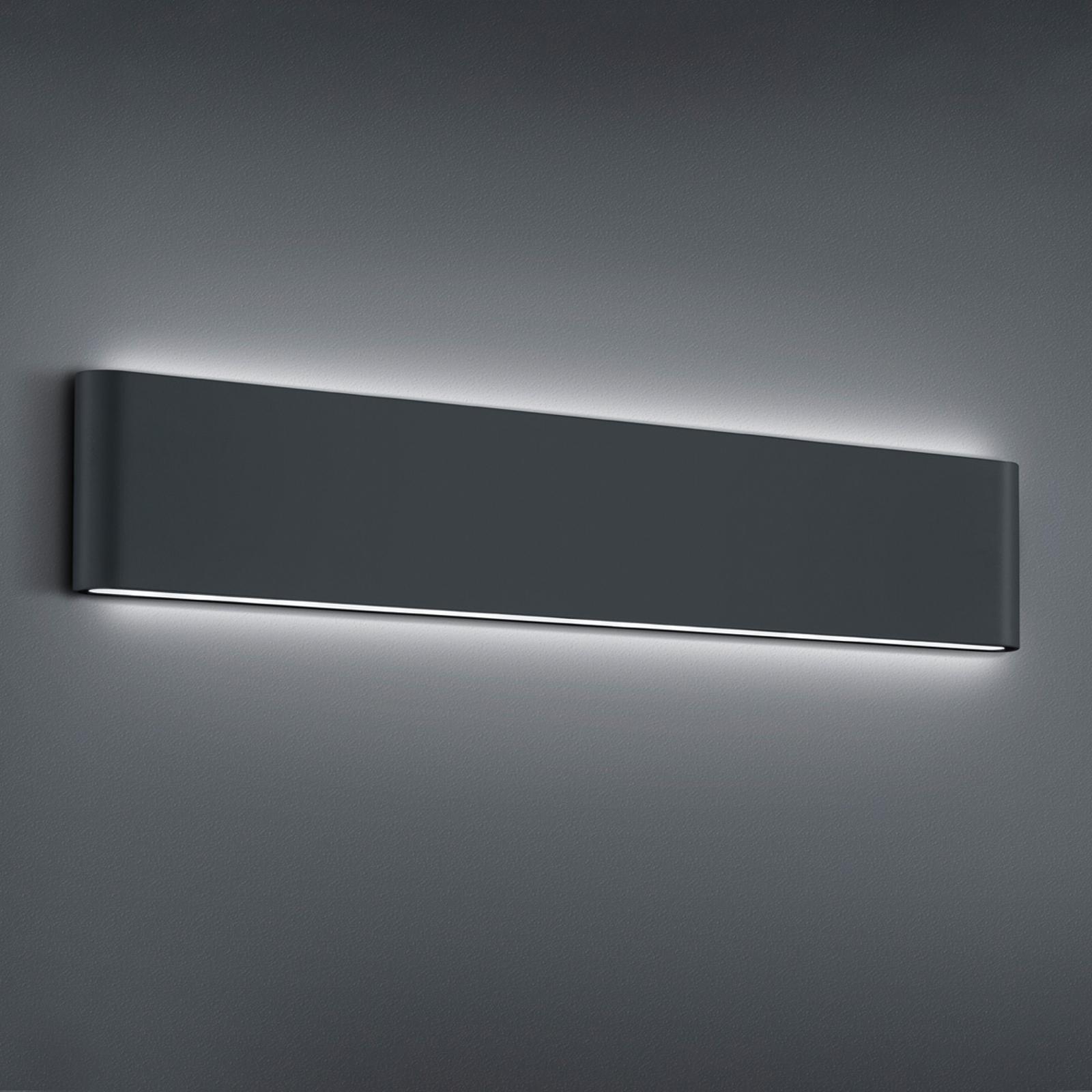 Thames II udendørs LED-væglampe, antracit