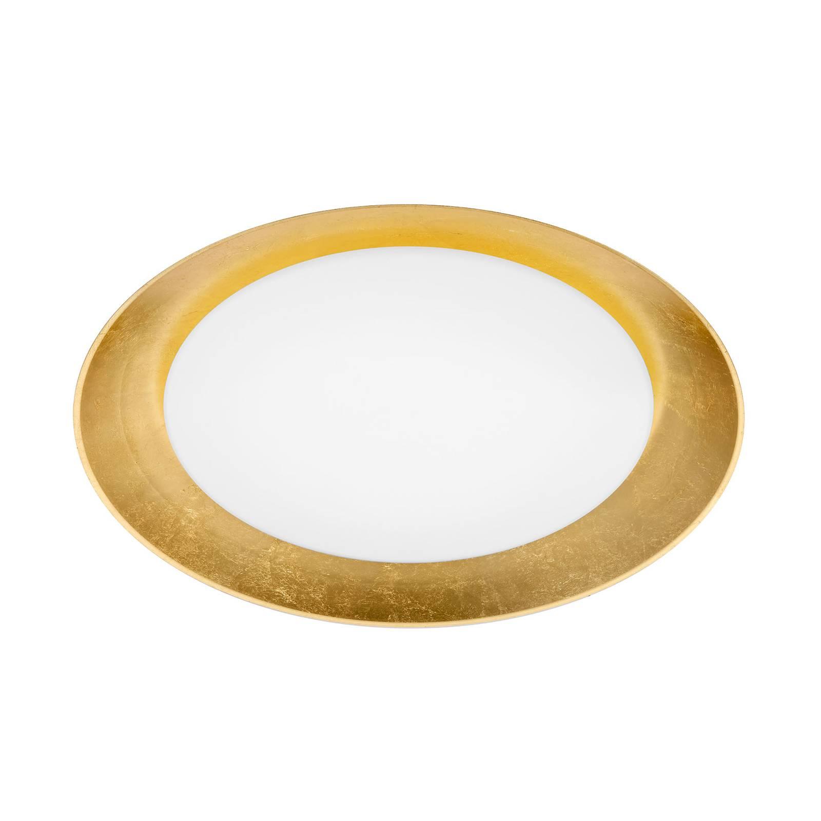 BANKAMP Cover LED-Deckenleuchte Ø54cm blattgold