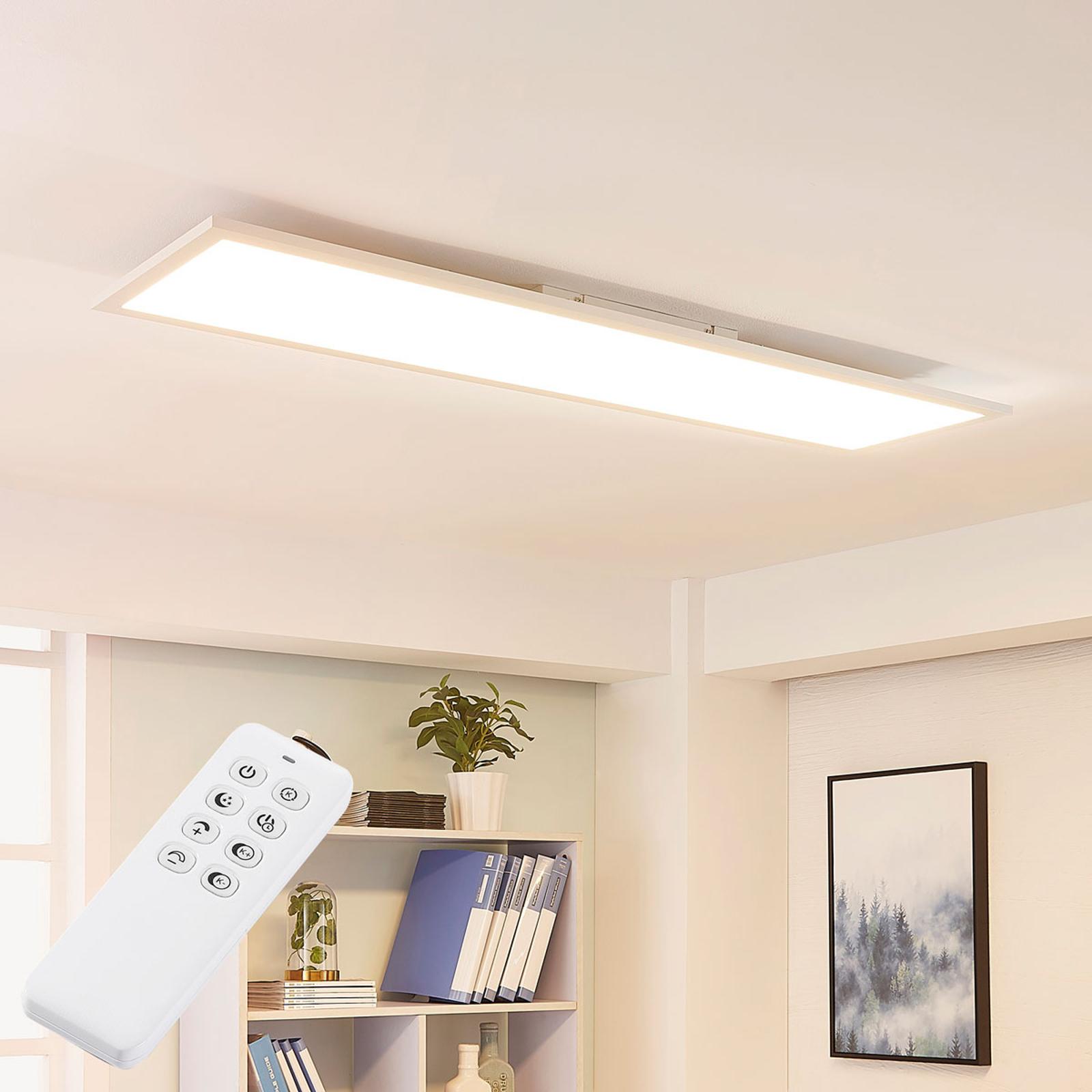 Arcchio Lysander panel LED, CCT 119cm 58W, biały