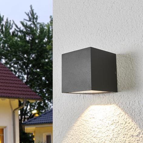 Nedadlysende LED udendørs væglampe Merjem