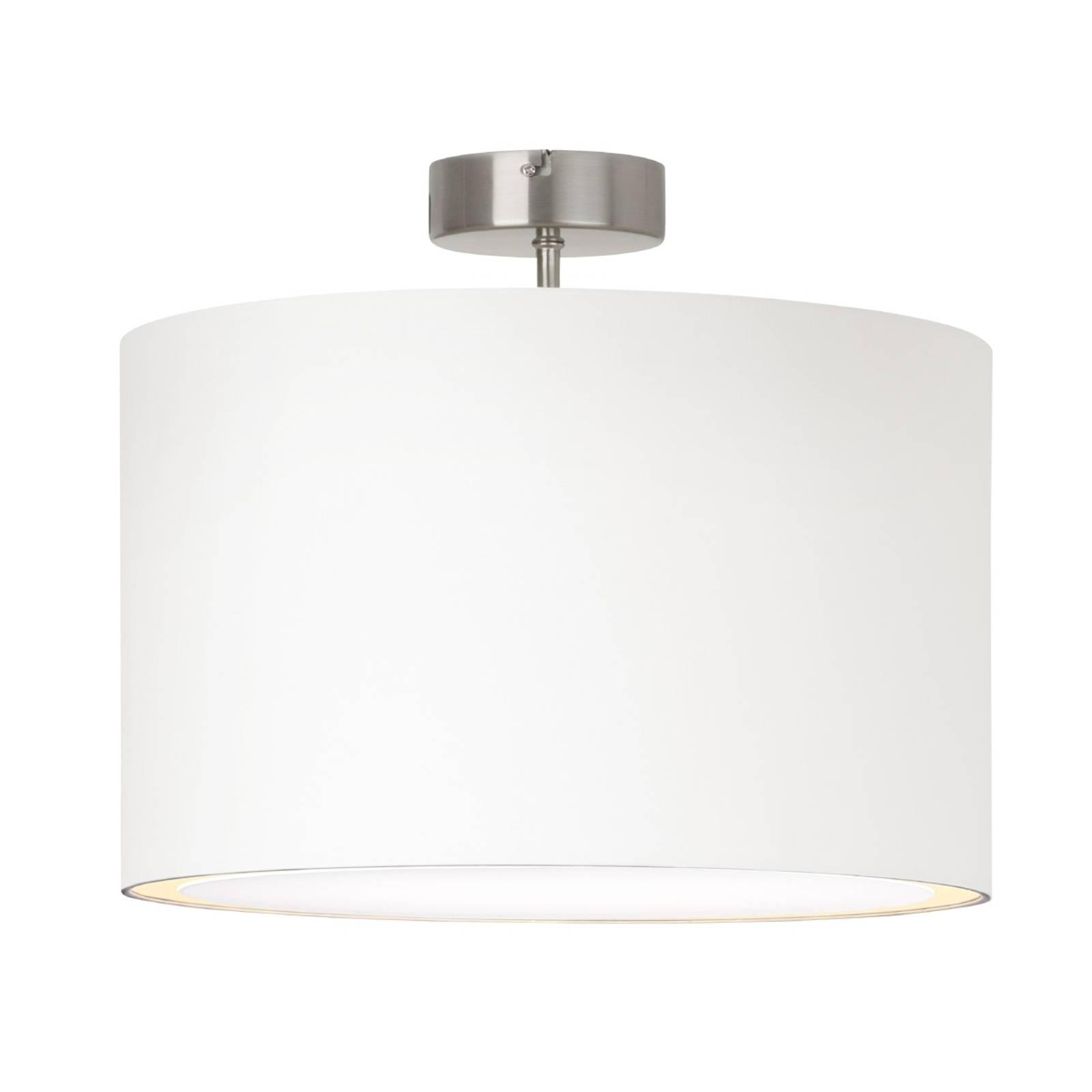 Eenvoudige plafondlamp CLARIE, wit