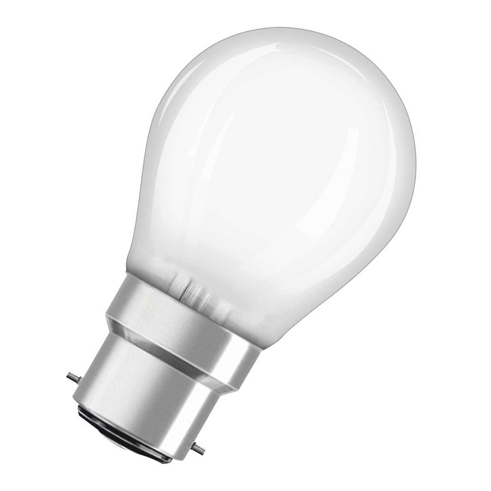 OSRAM LED-Lampe B22d Classic P matt 2,8W