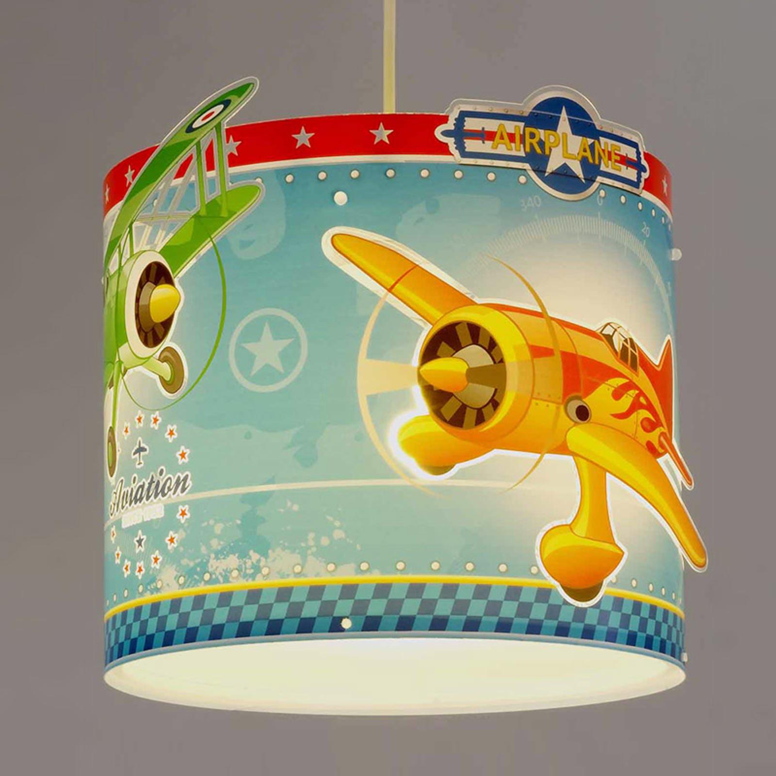 Airplane – závesná lampa s lietadlami_2507284_1
