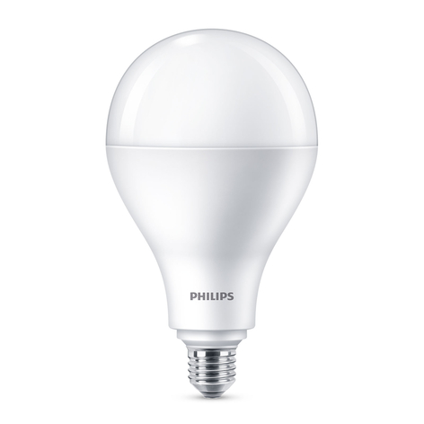 Philips LED lamp E27 A110 30W mat 2.700K