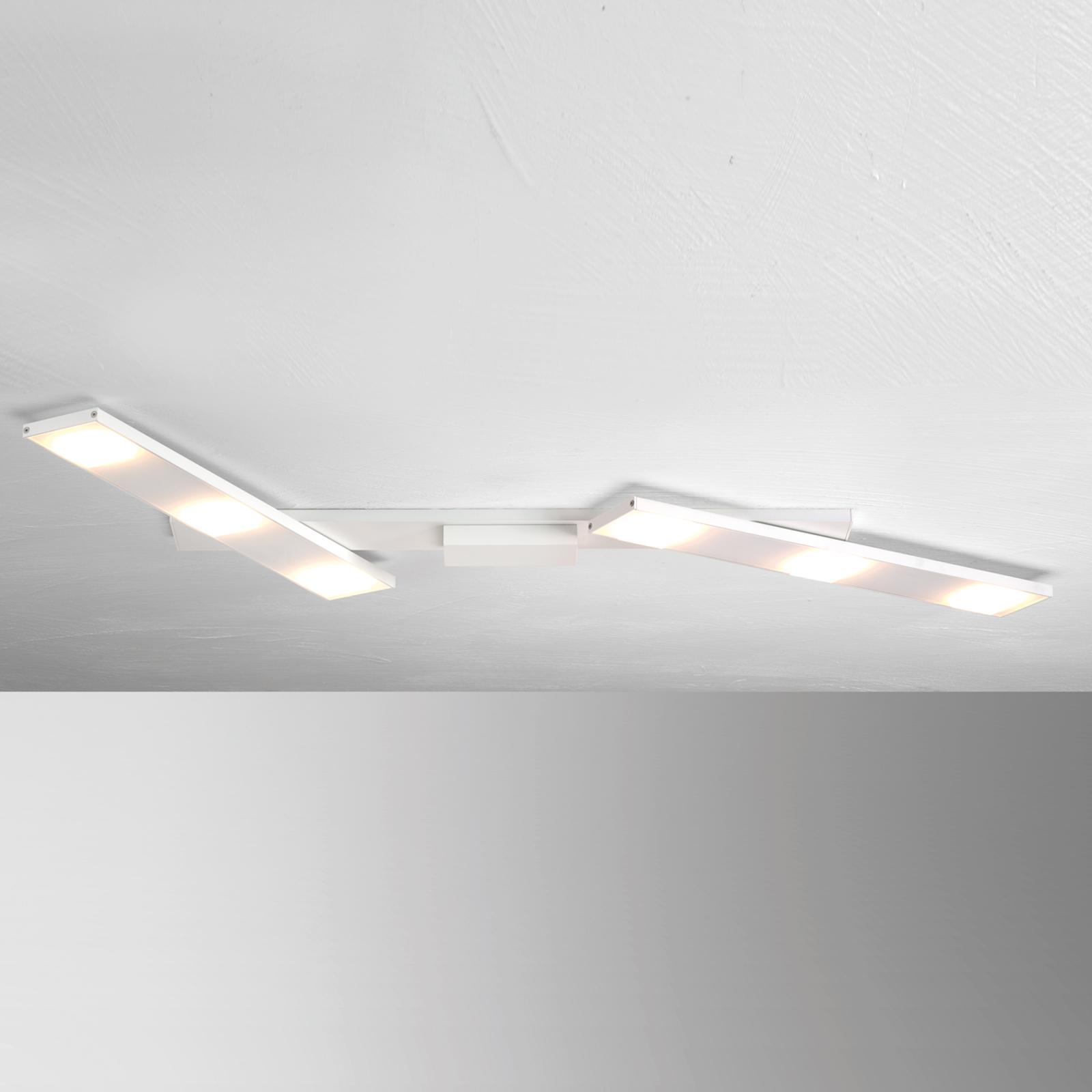 Svingbar LED-taklampe Slight, hvit