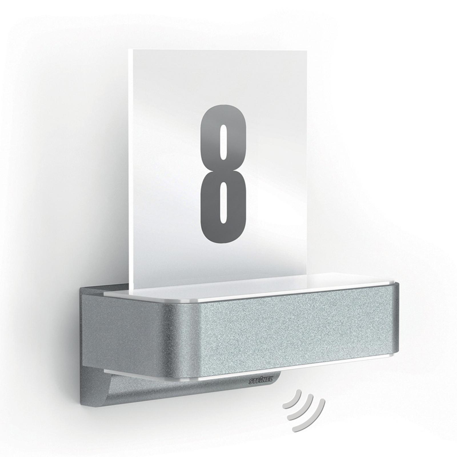 STEINEL L 820 LED iHF sensor utevegglampe, sølv