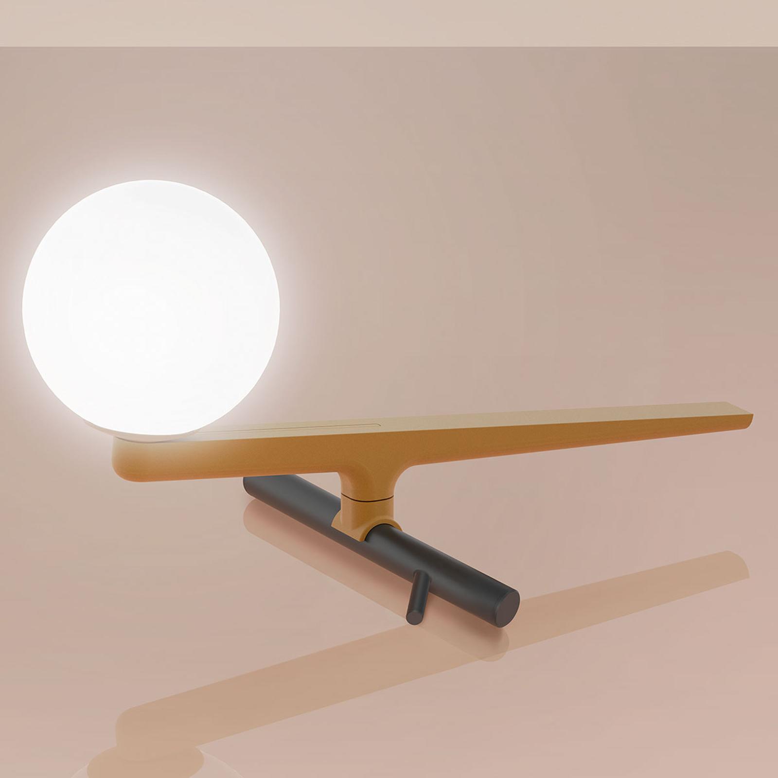 Artemide Yanzi lampa stołowa LED ściemniacz