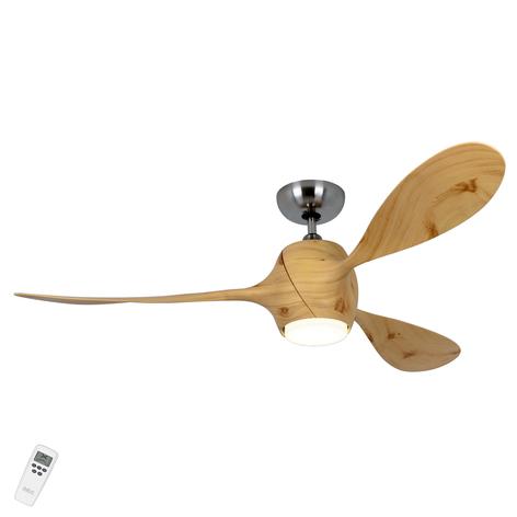 Stropní ventilátor Eco Fiore, červená borovice
