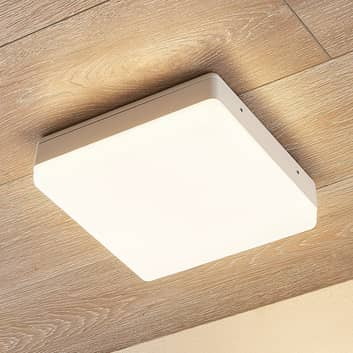 Lampa sufitowa LED Thilo, biała, 24cm