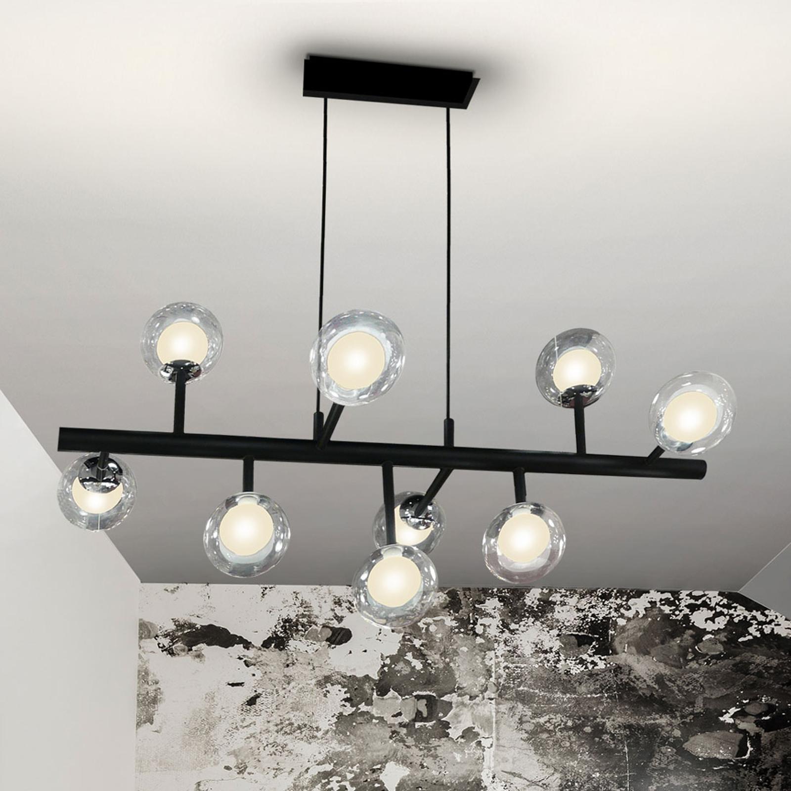 Suspension LED Altais dimmable avec télécommande