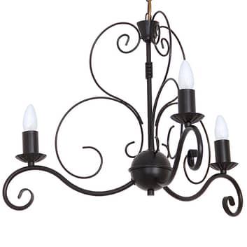 Lámpara de araña Mauro, 3 luces