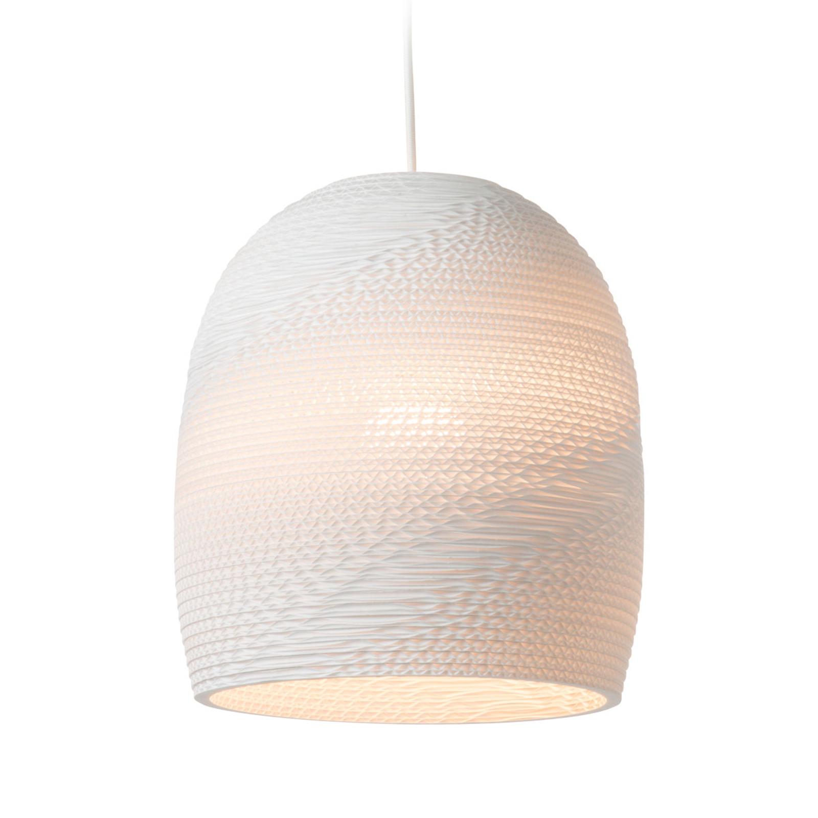 Hanglamp Bell wit Ø 27 cm