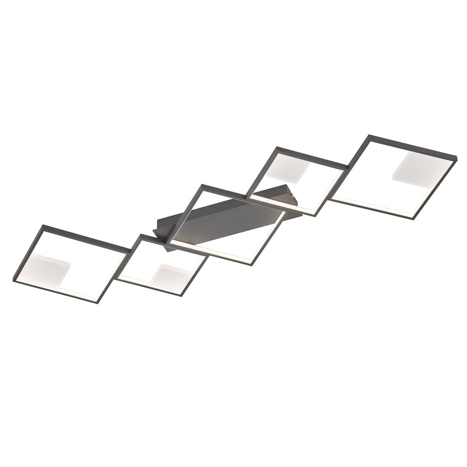 LED-taklampe Jade, dimbar med veggbryter