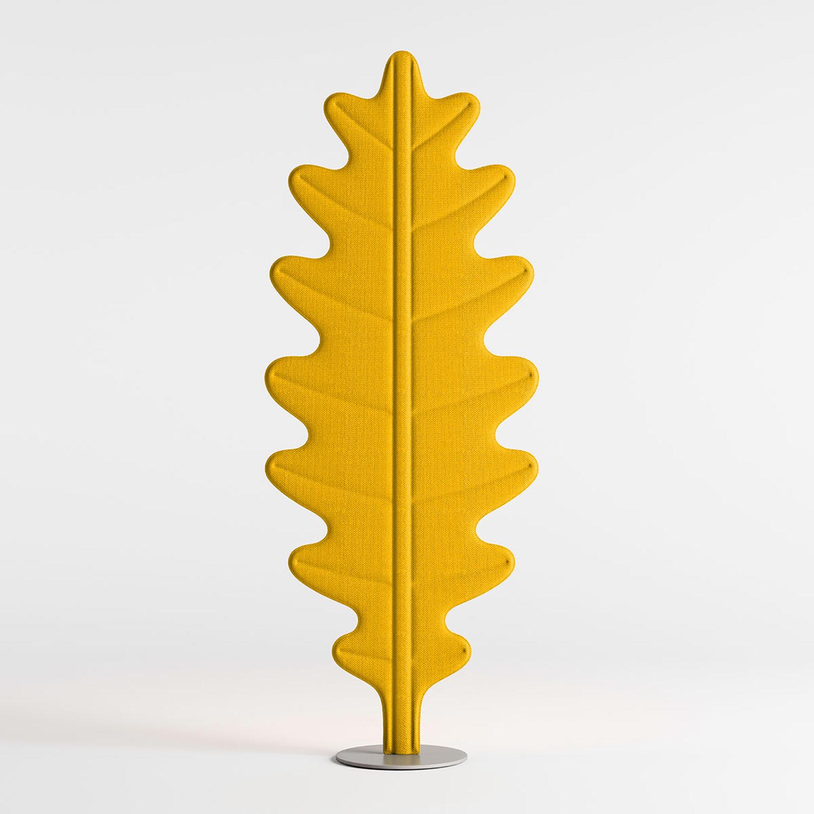 Rotaliana Eden Oak LED-Stehleuchte, gelb