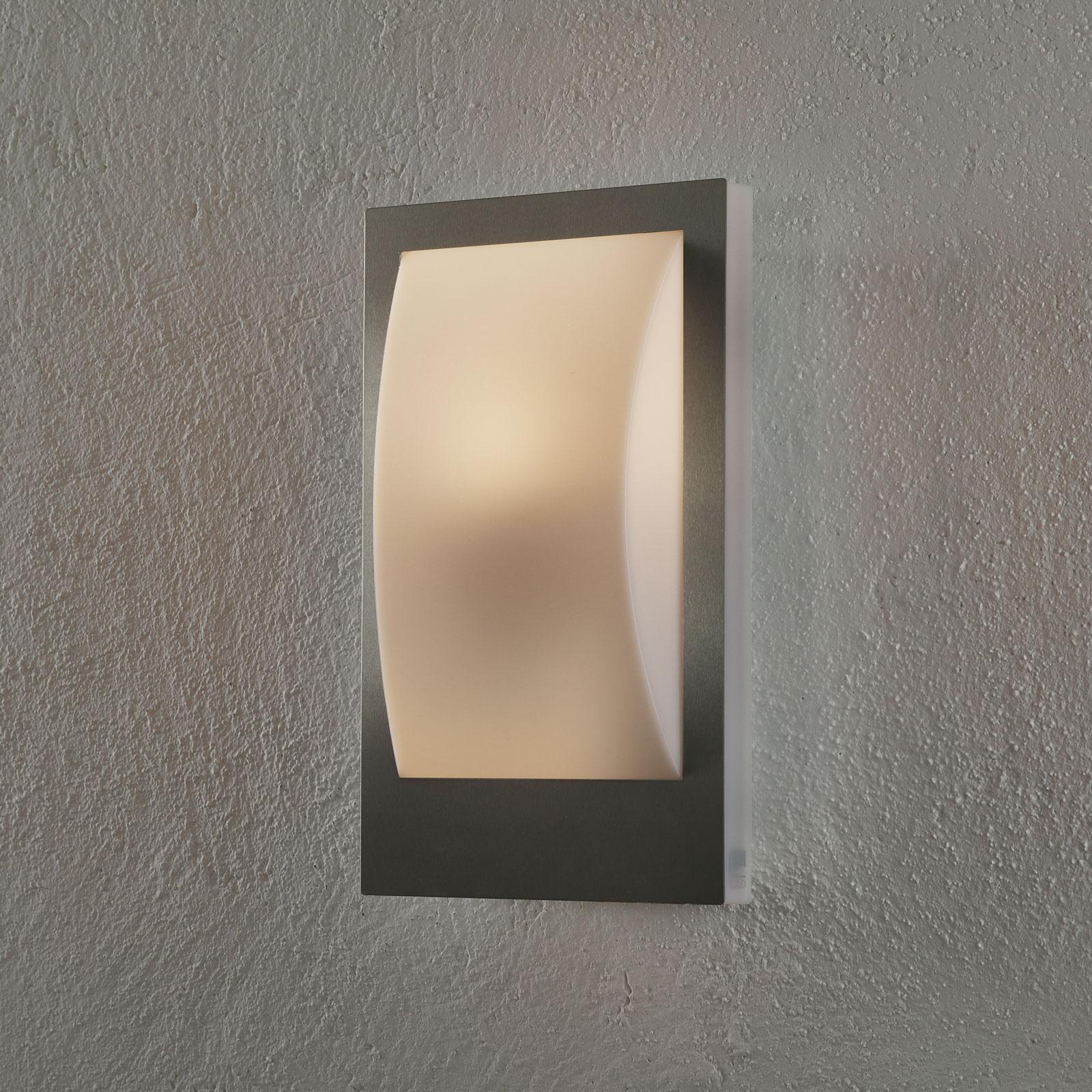 EGLO connect Verres-C LED-utevegglampe rust.stål