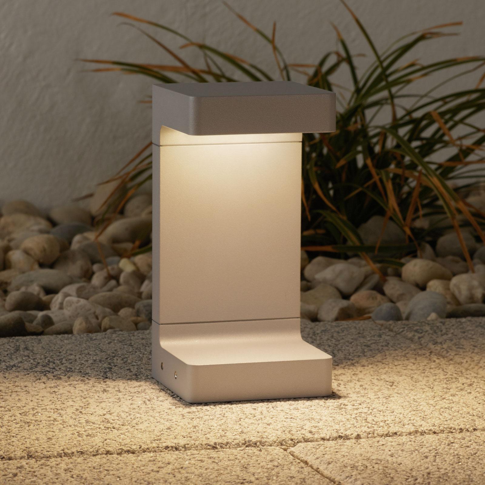 FLOS Casting C 100 lampioncino 20 cm, grigio