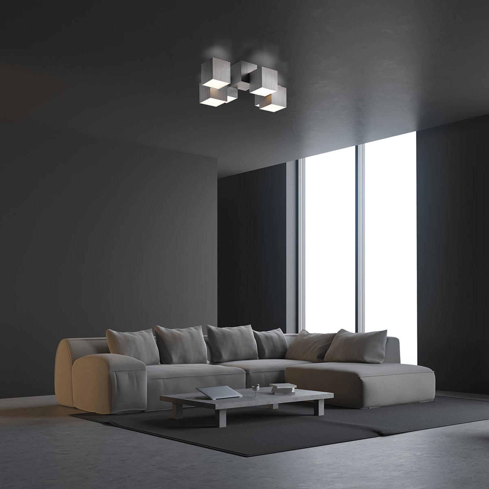 Produktové foto GROSSMANN GROSSMANN Rocks LED stropní svítidlo, 6zdrojové