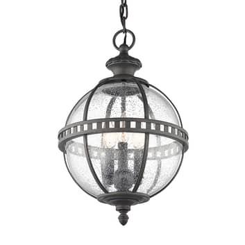 Udendørs hængelampe Halleron i viktorisk stil