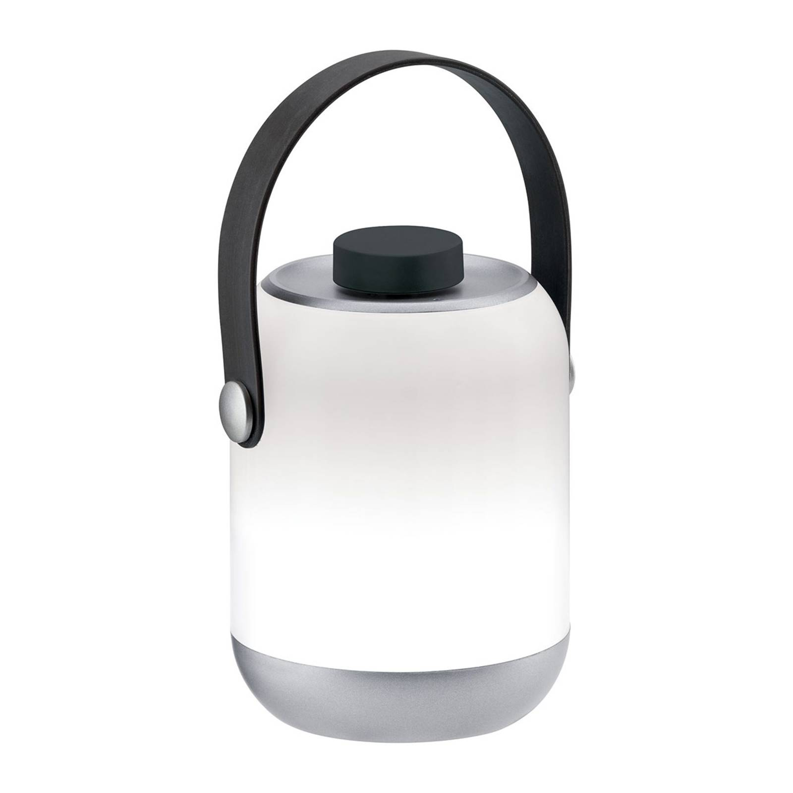 Paulmann mobiele tafellamp Clutch chroom
