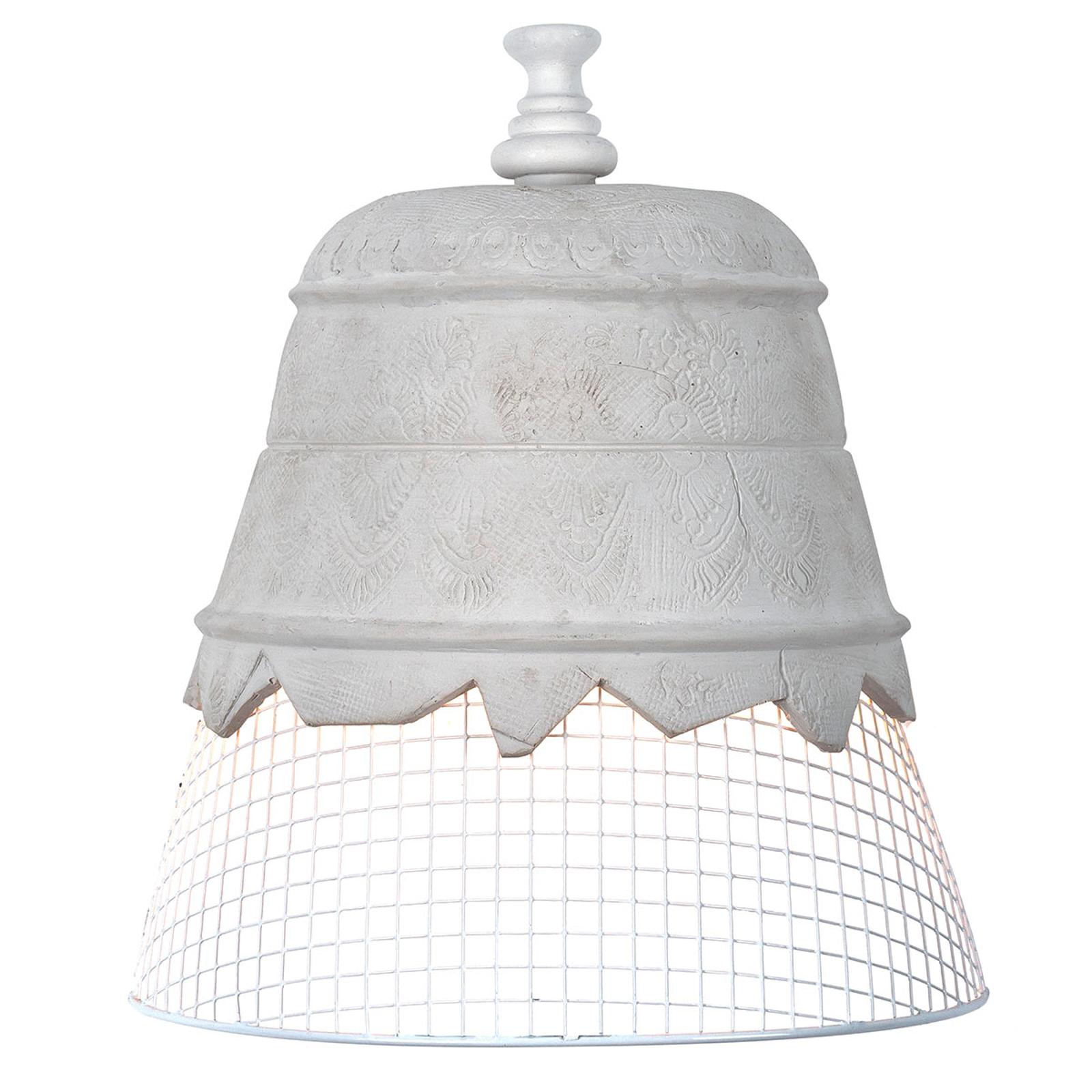 Karman Domenica wandlamp van gips, wit