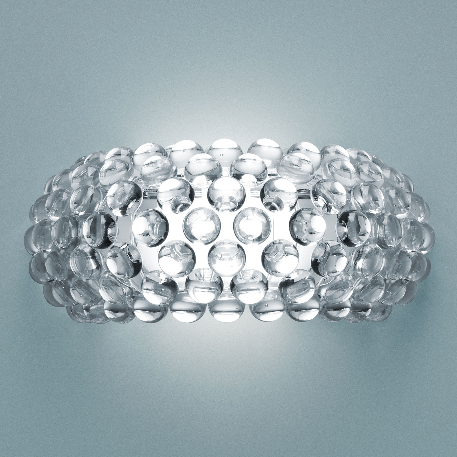 Foscarini MyLight Caboche media LED, transparente