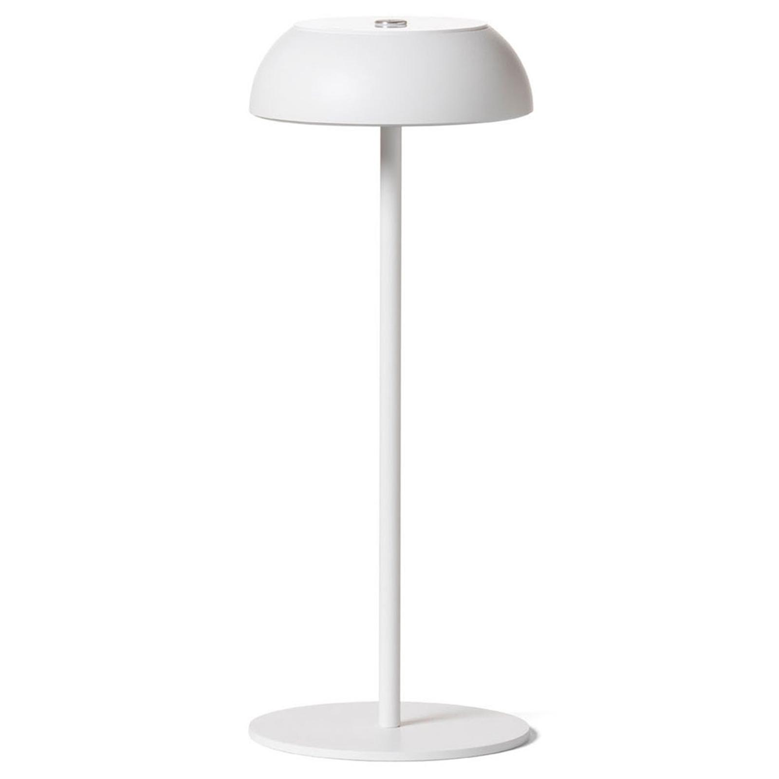 Axolight Float LED-designer-pöytälamppu, valkoinen