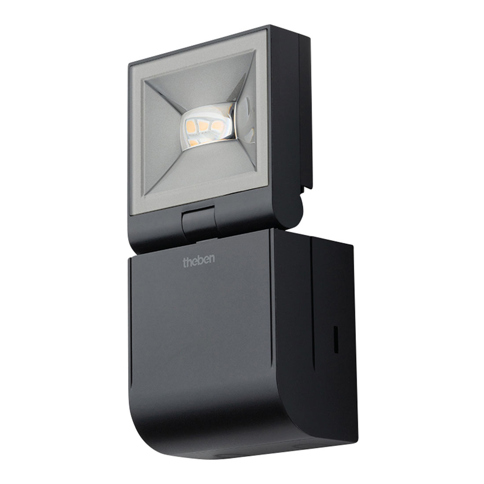 Theben theLeda S10L spotti 1-lamppuinen musta