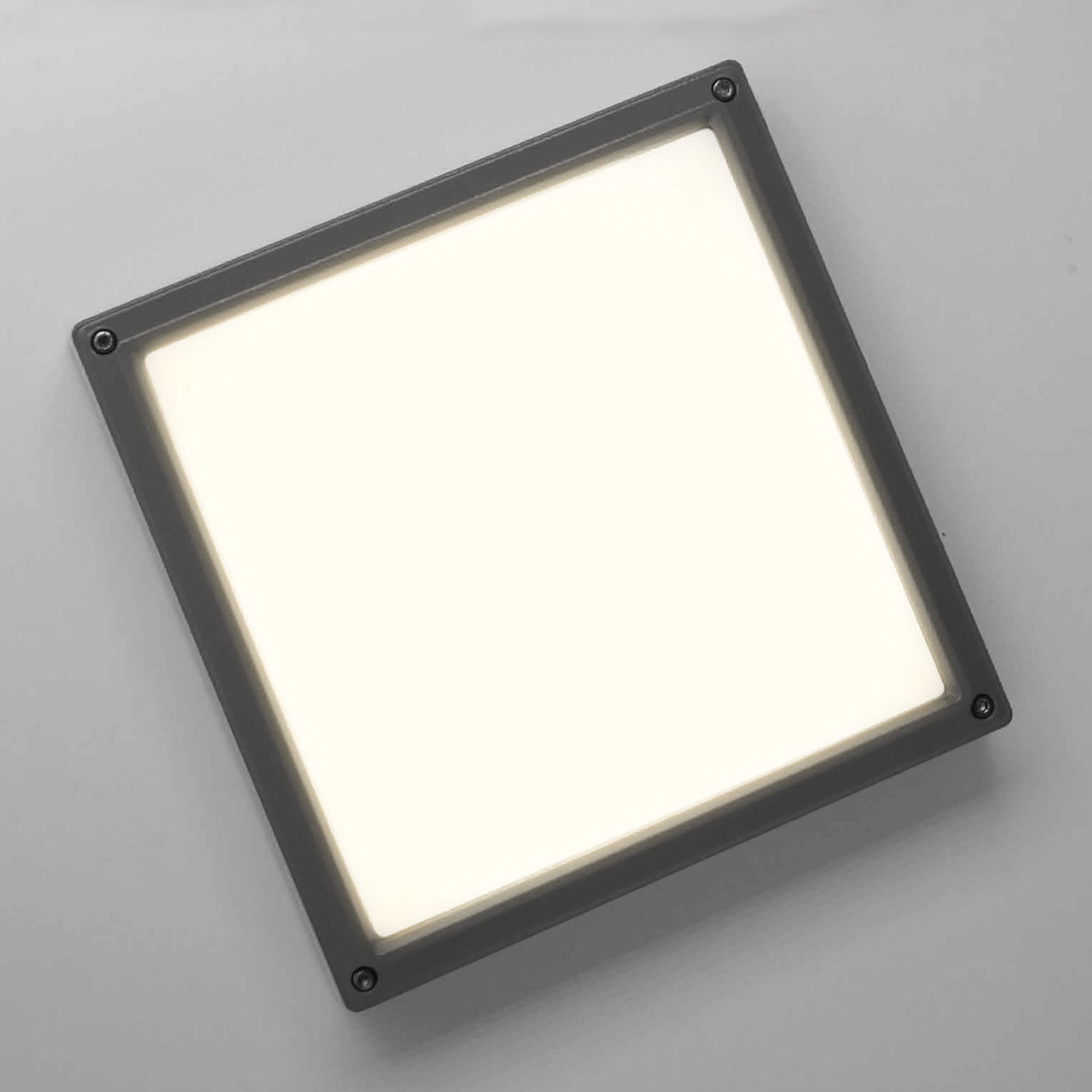 SUN 11 LED-væglampe 13 W antracit 3K