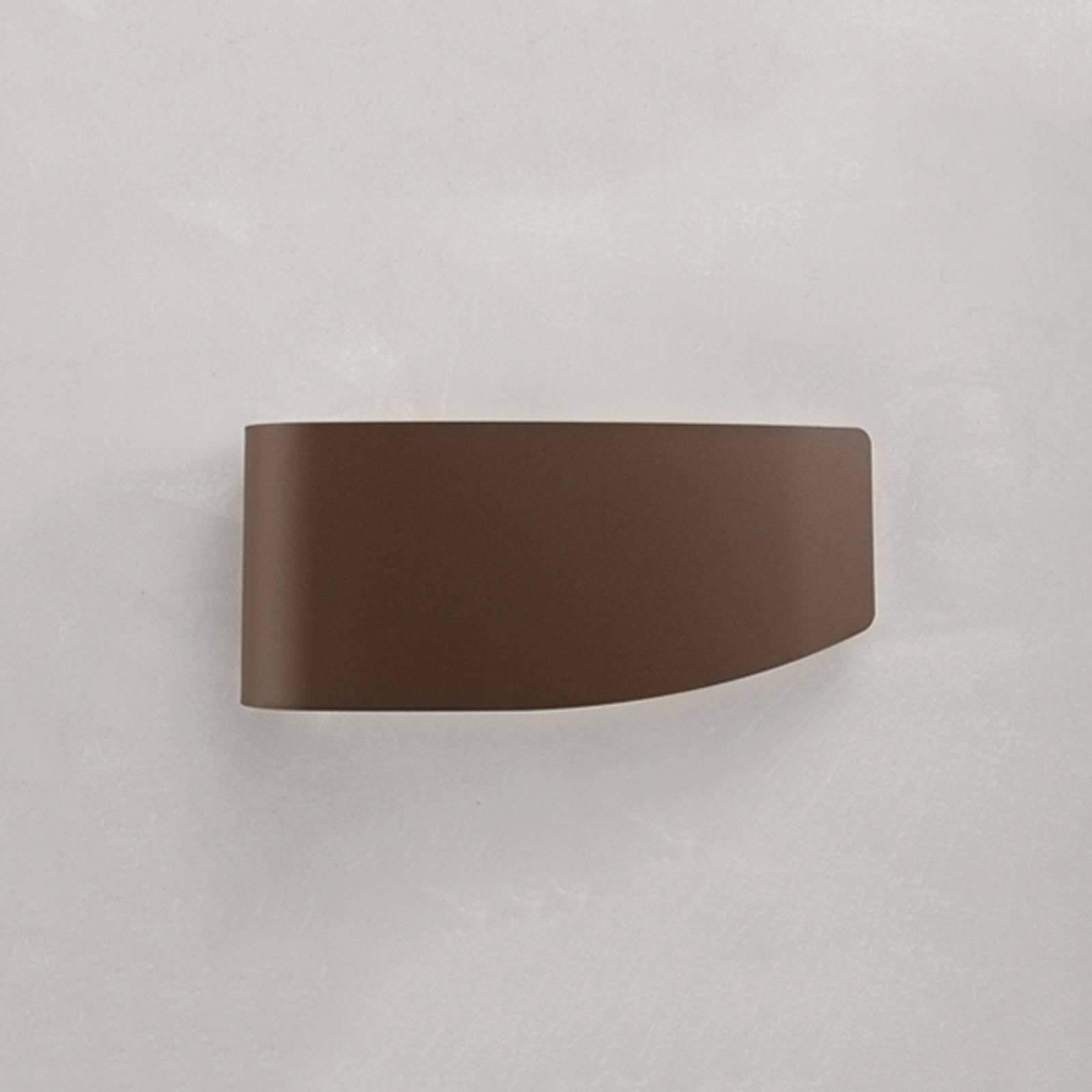 Applique décorative Virgola, brune