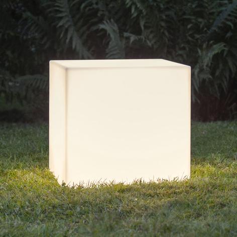 Lámpara de terraza Gardenlight, cubo