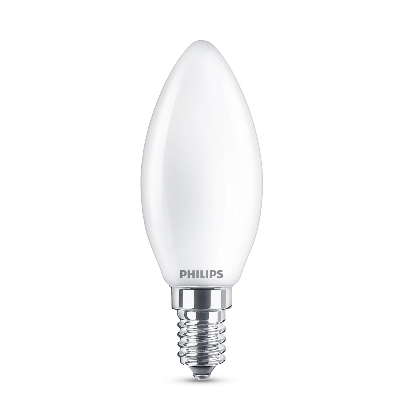 Philips Classic LED-Lampe E14 B35 6,5W matt 4.000K