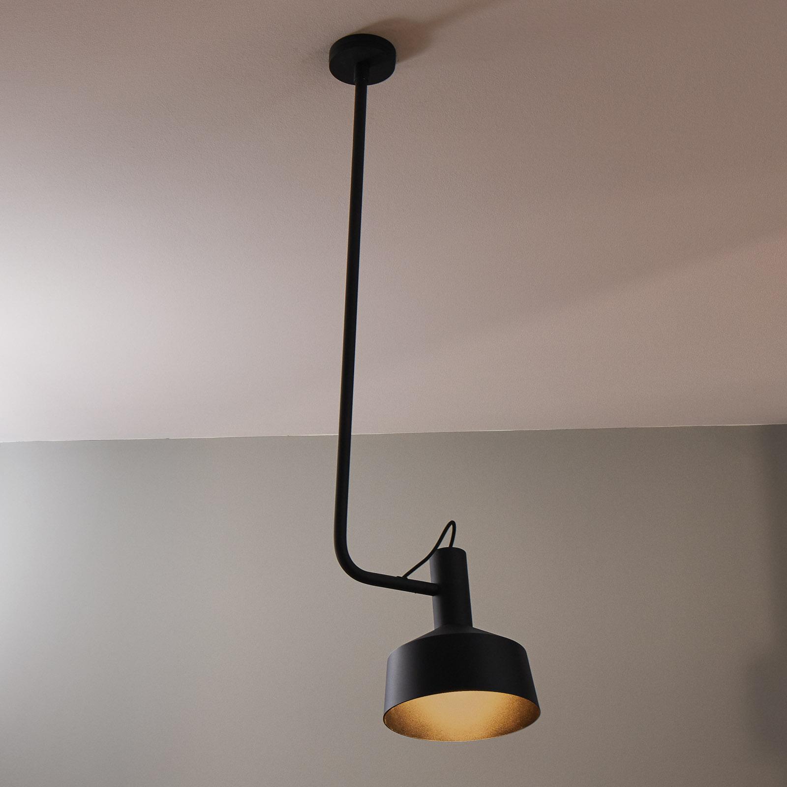 WEVER & DUCRÉ Roomor Hänge GU10 1fl. 25cm schwarz