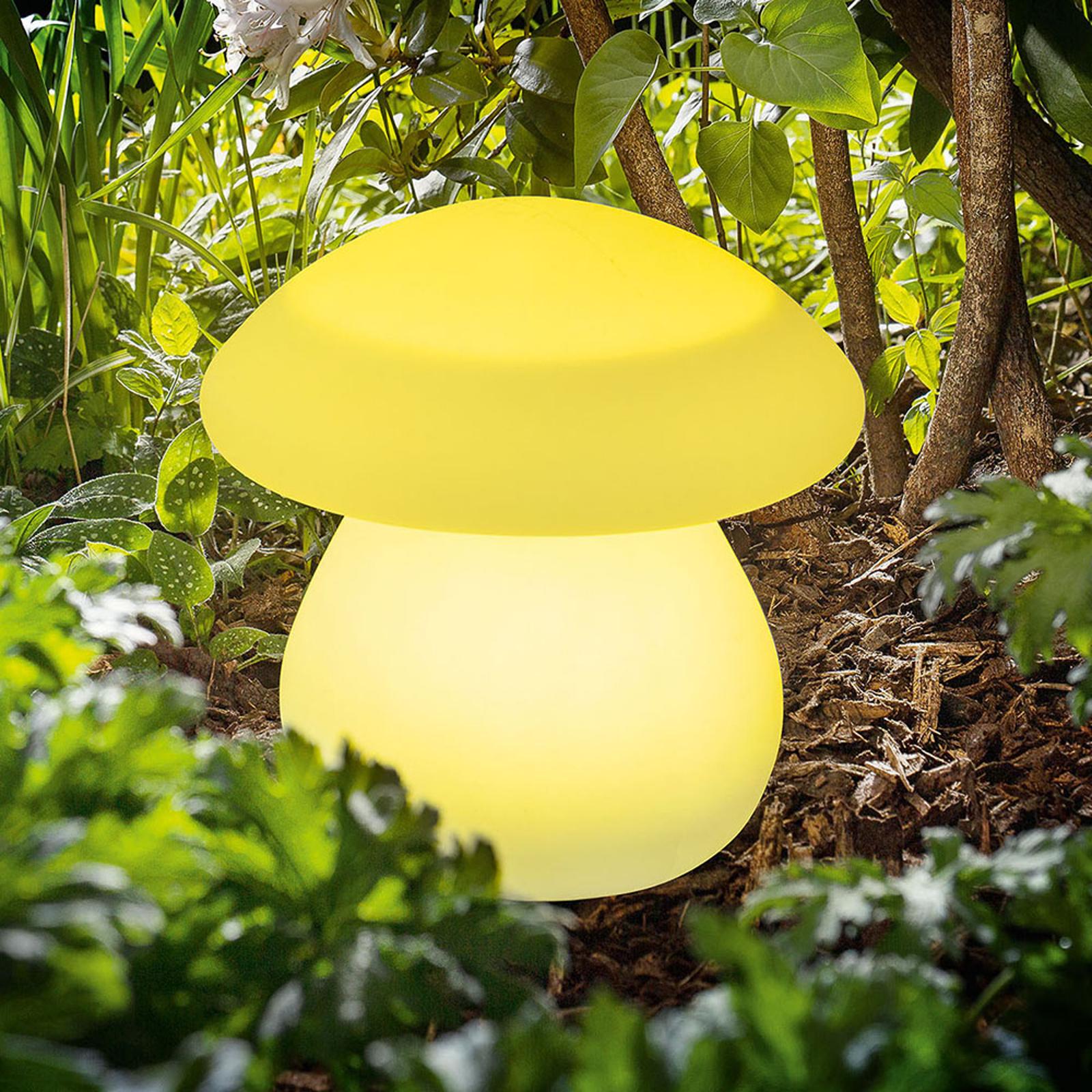 Solar-LED-Dekoleuchte Smart Mushroom