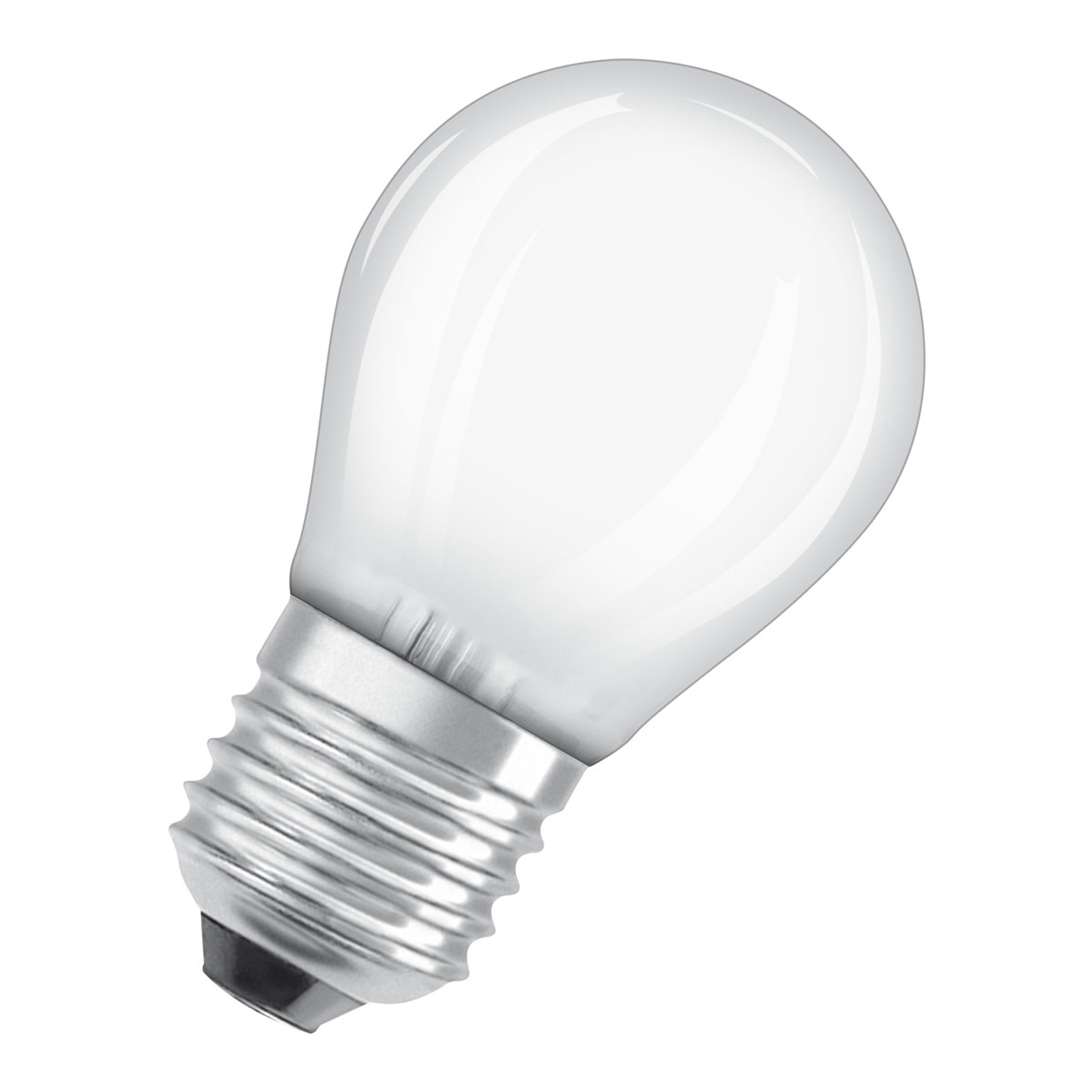 OSRAM LED-Lampe E27 4W Classic P 4.000K matt