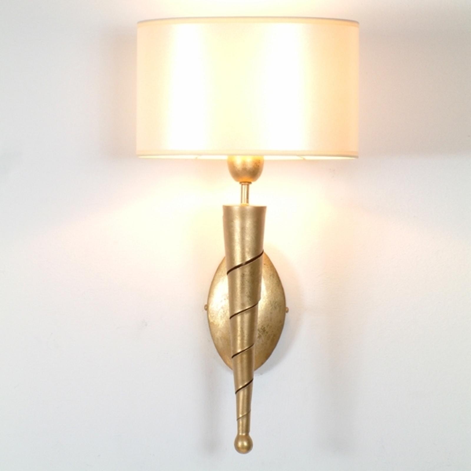 Sublieme wandlamp INNOVAZIONE goudkleurig
