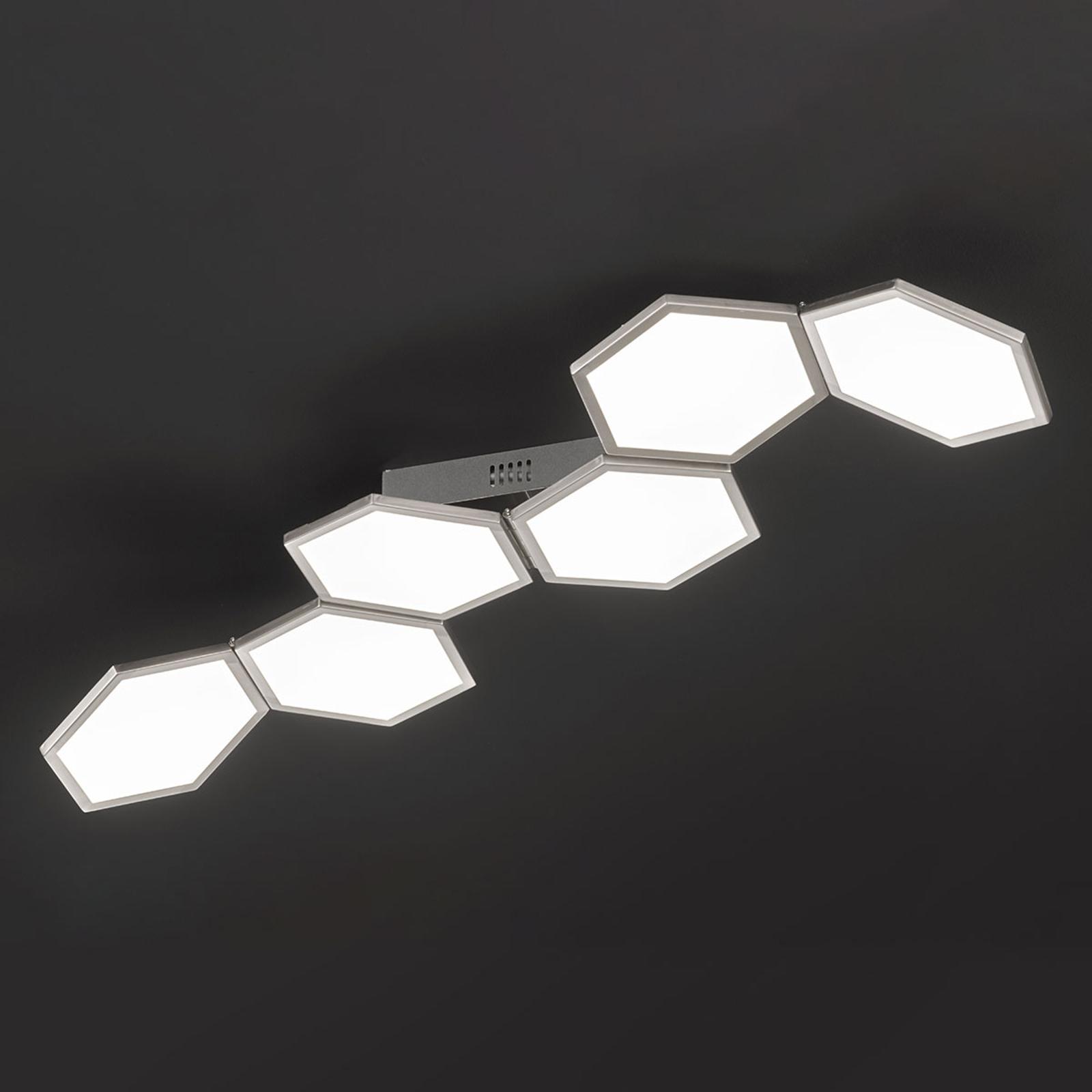 Dimbar LED-taklampe Signe, justerbar
