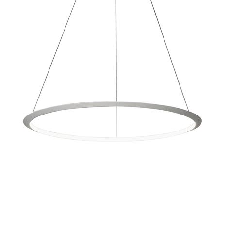 Grok Circular LED-Hängelampe mit großem Schirm